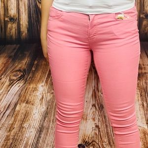 Mauve Skinny Jeans
